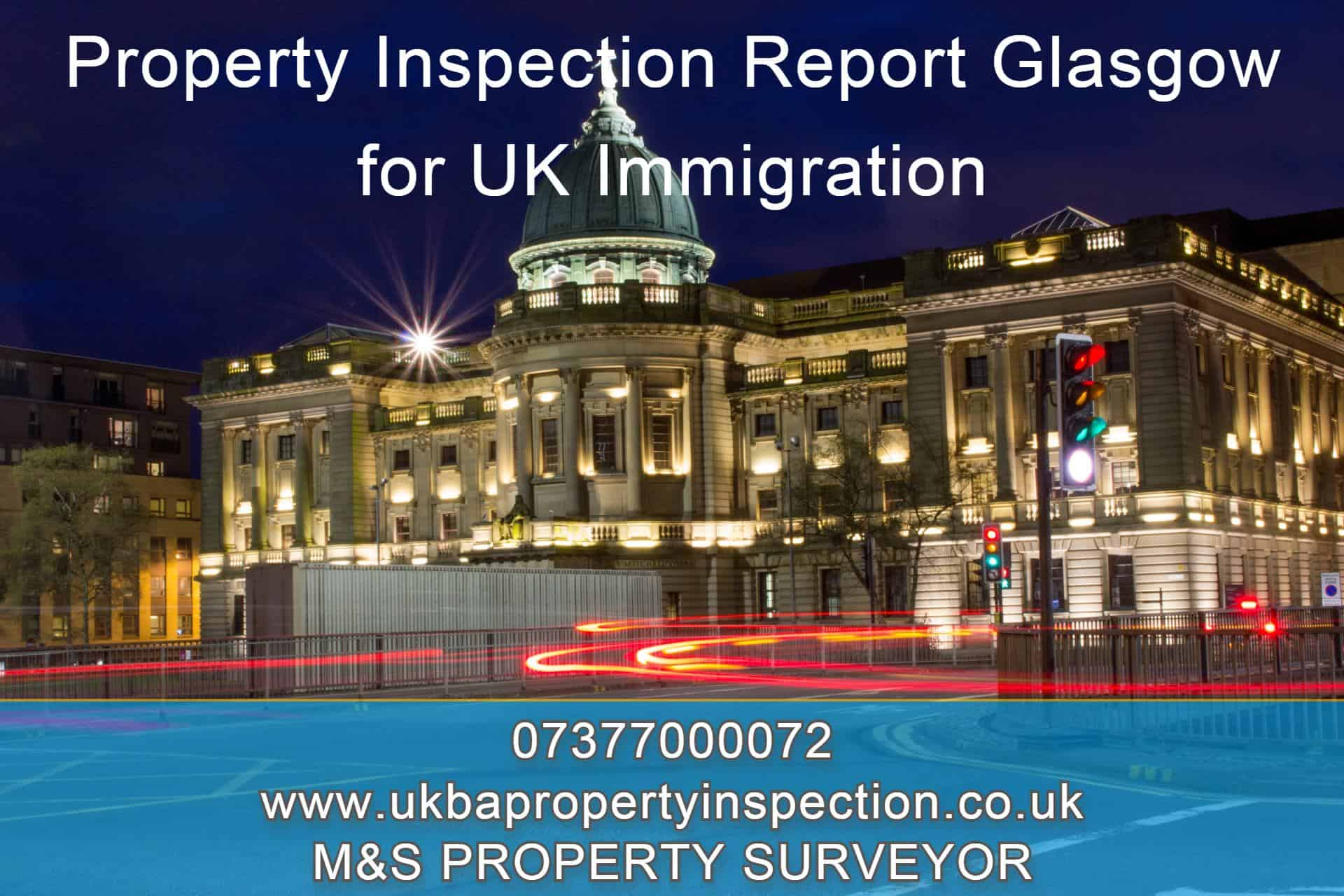 Property Inspection Report Glasgow